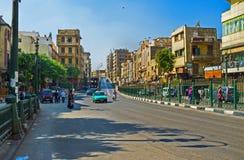 Полдень в Каире Стоковое Фото