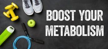 Поддержите ваш метаболизм стоковые изображения