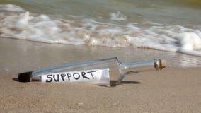 Поддержка бутылки