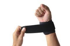 Поддержка запястья руки Стоковая Фотография RF