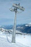 Поддержка подъема лыжи Стоковое фото RF