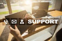 поддержка техническая Помощь клиента Концепция дела и технологии Стоковые Изображения RF