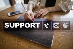 поддержка техническая Помощь клиента Концепция дела и технологии Стоковая Фотография