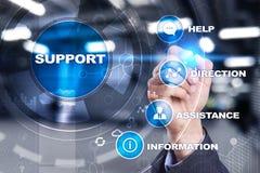 поддержка техническая Помощь клиента Концепция дела и технологии Стоковое Изображение