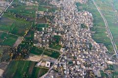 Полет воздушного шара в Луксор, красивый Стоковая Фотография RF