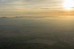 Полет воздушного шара в Луксор, красивый Стоковые Фотографии RF