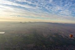 Полет воздушного шара в Луксор, красивый Стоковая Фотография