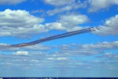 Полет воздушных судн Стоковое Фото