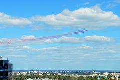 Полет воздушных судн Стоковая Фотография