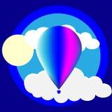 Полет на шарик Стоковое Изображение
