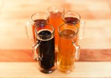 Полет пива Стоковая Фотография
