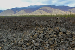 Поле лавы Стоковые Фотографии RF