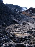 Поле лавы Leirhnjukur Стоковая Фотография