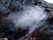 Поле лавы Leirhnjukur Стоковые Изображения