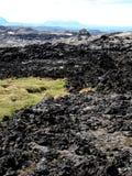 Поле лавы Leirhnjukur Стоковое Изображение RF