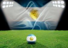 Поле Аргентины Стоковая Фотография