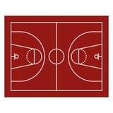 Поле баскетбола Стоковые Фото