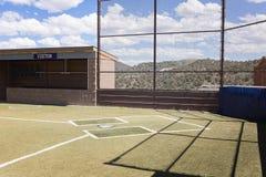 Поле бейсбола страны Стоковые Изображения RF