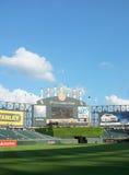 Поле бейсбола США клетчатое Стоковые Изображения RF