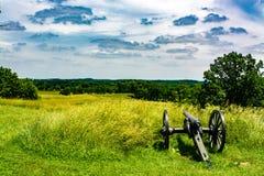 Поле брани Gettysburg Стоковые Фотографии RF