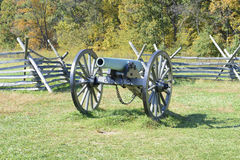 Поле брани Gettysburg Стоковая Фотография RF