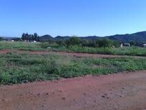 Поле в Garankuwa Стоковое Изображение