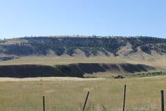 Поле загородки гребней Стоковые Фотографии RF