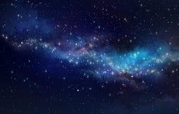 Поле звезды в глубоком космосе Стоковое Изображение