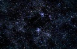 Поле звезды Стоковые Фото