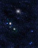Поле звезды Стоковые Изображения RF