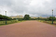 Поле Марса в Санкт-Петербурге Стоковое фото RF