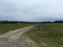 поле открытое Стоковая Фотография RF