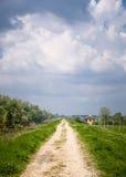 Поле ринва дороги Стоковая Фотография RF