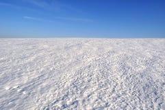 Поле снега Стоковая Фотография RF