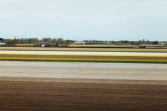 Поле фермы после культивирования Стоковое фото RF
