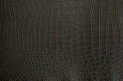 Поддельная текстура крокодила Стоковые Фотографии RF