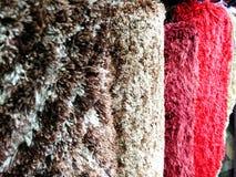 Поддельная ткань меха для одежд Стоковое Изображение RF