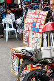 Поддельный магазин ID и документа, Бангкок Стоковое Изображение RF