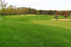 Поле для гольфа Вирджиния стоковые фото