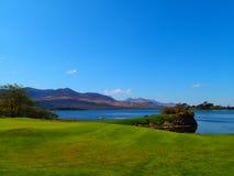 Поле для гольфа в Killarney Стоковая Фотография RF