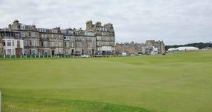 Поле для гольфа Сент-Эндрюса, Шотландия Стоковое Изображение RF