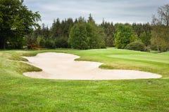 Поле для гольфа Стоковое Изображение RF