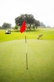 Поле для гольфа Стоковое Фото