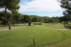 Поле для гольфа Campoamor, Аликанте Стоковое Изображение RF