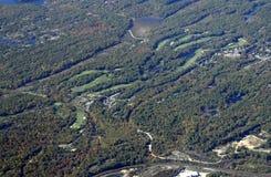 Поле для гольфа Gravenhurst Стоковое Изображение
