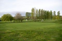 Поле для гольфа Wath Стоковые Изображения RF