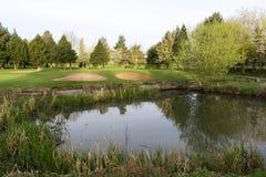 Поле для гольфа Wath Стоковые Фотографии RF