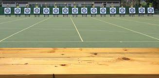 Поле Archery для конкуренции Стоковые Фотографии RF