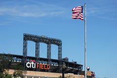 Поле Citi, дом команды высшей лиги бейсбола New York Mets в топить, NY. стоковые изображения
