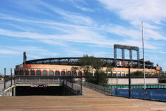 Поле Citi, дом команды высшей лиги бейсбола New York Mets в топить, NY. стоковое изображение rf